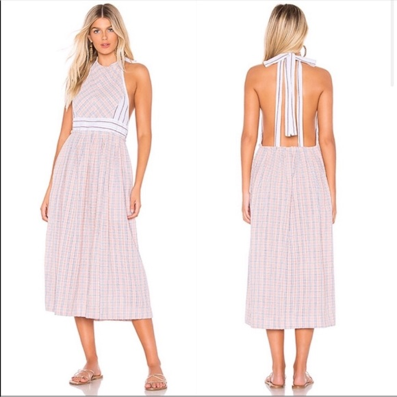 Free People Dresses & Skirts - Free People Color Theory Midi Dress—L
